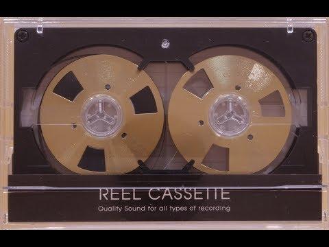 Reel to Reel cassette tape / Self-made Gold design from Korea (visual demonstration only) ⁴ᴷ