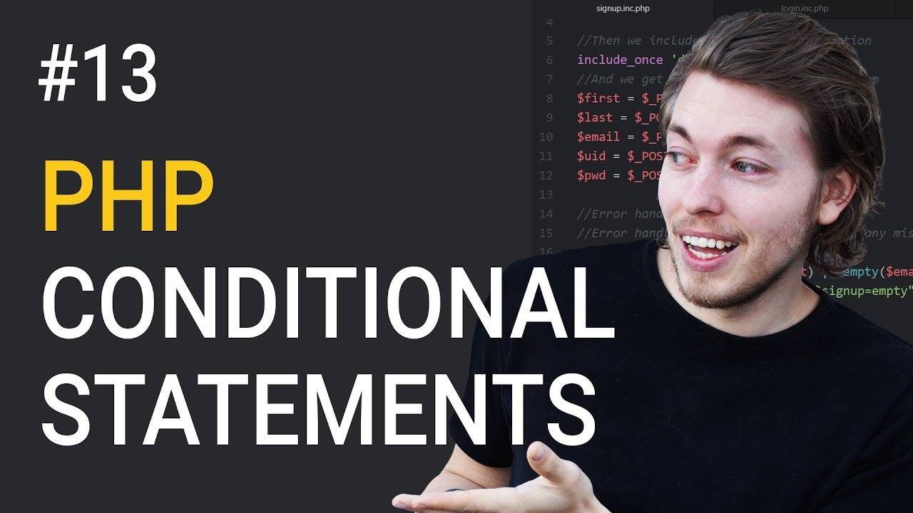 13: Various Conditional Statements in PHP | PHP Tutorial | Learn PHP Programming | PHP for Beginners