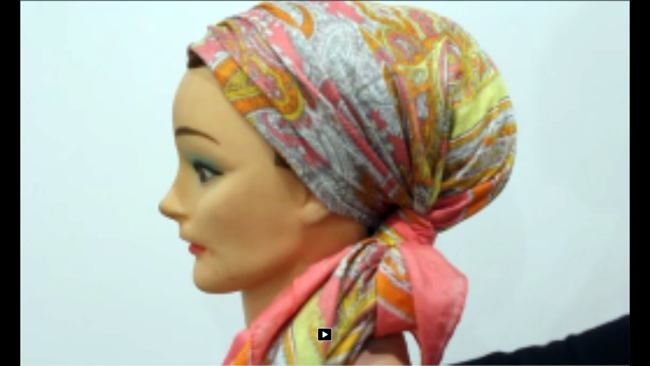 tuto foulard 4 nouer un foulard sur cheveux turban tutorial 4 youtube. Black Bedroom Furniture Sets. Home Design Ideas