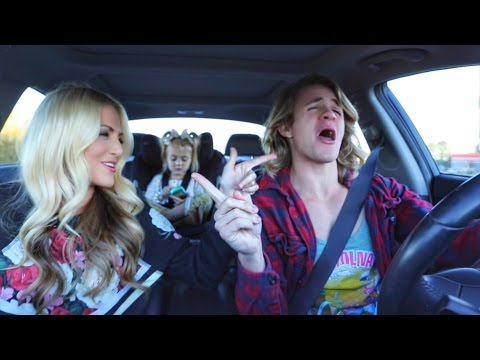 TAYLOR SWIFT FAMILY CAR SING OFF!!!