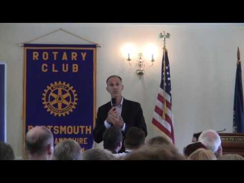 Rich Ashooh, Portsmouth Rotary Club, Greenland NH 8/4/16