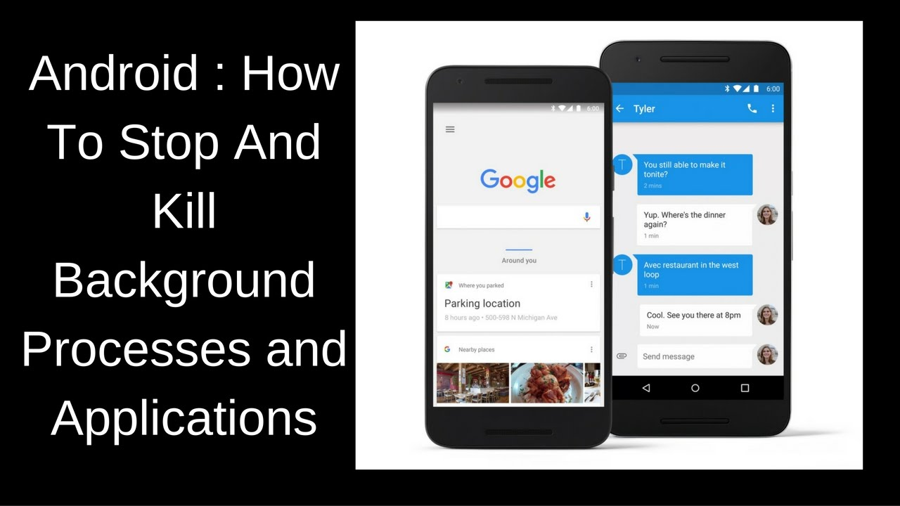 Android : How To Stop And Kill Background Processes and Applications On  Your Android Phone