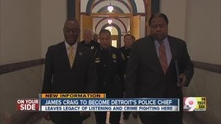 James Craig to become Detroit's Police Chief