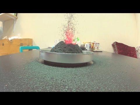 Как сделать вулкан   Просто Мама