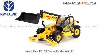 New Holland LM1745 Telehandler 1:87 Diecast construction equipment www.scaleartsin.com