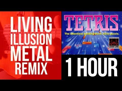 Tetris - A Theme - Metal Remix Music Video - 1 HOUR Version
