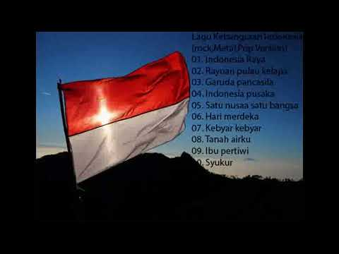 Lagu kebangsaan Indonesia (Rock Cover)