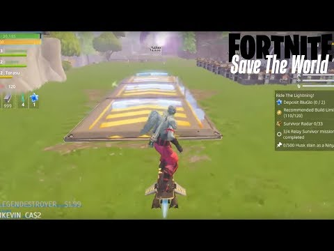 GOT TO GO FAST!! Fortnite: Save The World (Gameplay)