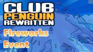 Club Penguin Rewritten: July 4th Fireworks Event