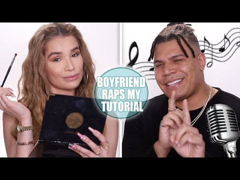 Boyfriend RAPS my Makeup Tutorial!! *HE WROTE ME A SONG!* thumbnail