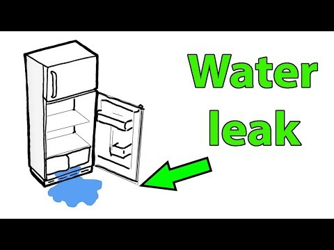 Fridge Leaking Water Inside Under Crisper Vegetable Drawers. Maytag Whirlpool