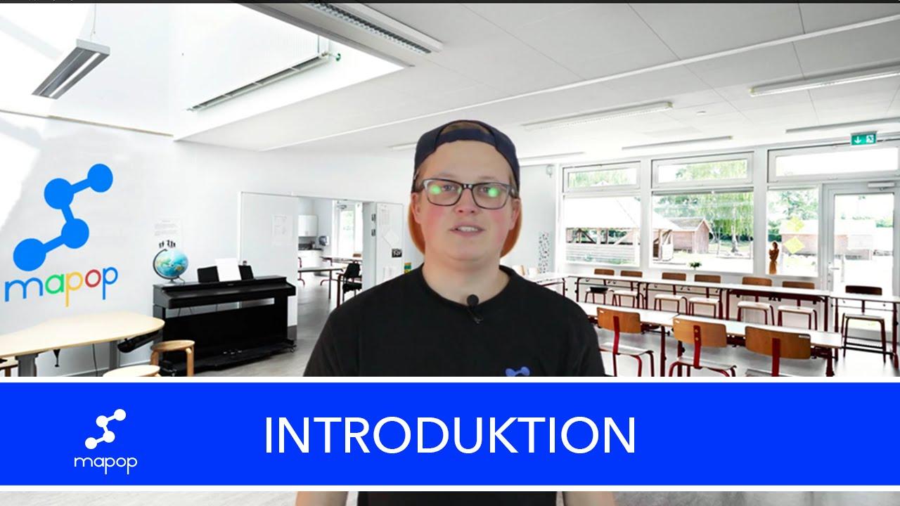 Introduktion til Mapop - Læring i bevægelse