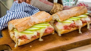 Hot Ham and Brie Sandwich - Home & Family YouTube Videos