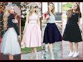 Cute Pretty skirts for School ,College ,office Girls make your personaltiy Decent Women Fashion