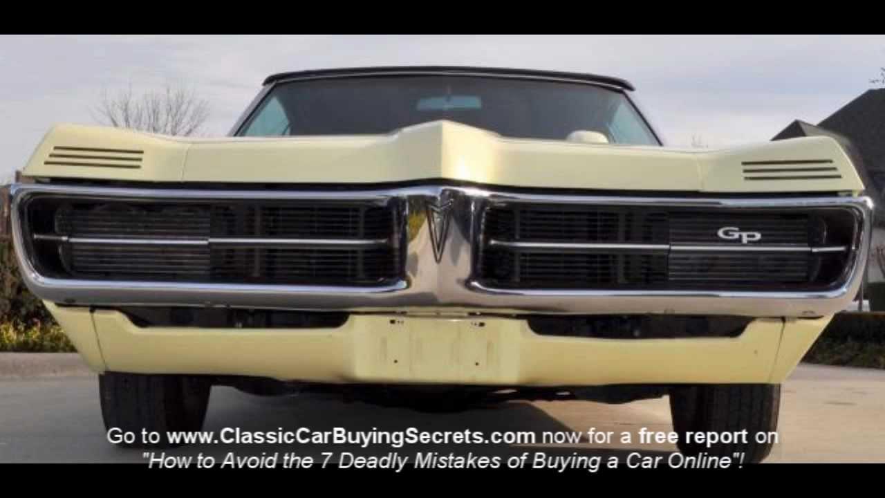 1967 Pontiac Grand Prix Convertible Classic Muscle Care For Sale In 1960s Gto Dash Mi Vanguard Motor Sales Youtube