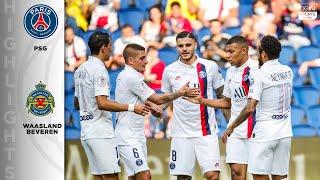 PSG 7 - 0 Waasland Beveren - HIGHLIGHTS & GOALS - 7/17/20