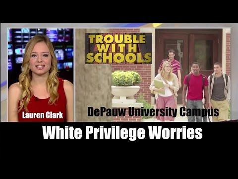 White Privilege Worries on the Campus of DePauw University
