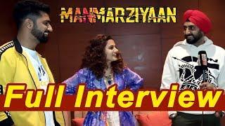 Manmarziyan | Interview | Abhishek Bachchan | Tapsee Pannu | Vicky Kaushal | Dainik Savera