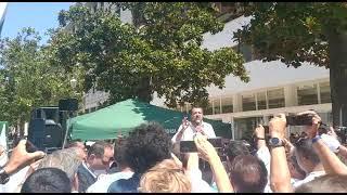 Salvini a Brindisi per il referendum sulla giustizia