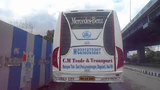Royalty Free Video Footage | Luxury bus at VIP Road