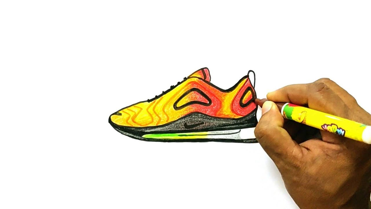 outlet store low priced quite nice How to Draw Nike Air Max 720