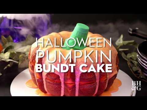 Halloween Pumpkin Bundt Cake | Fun With Food | Better Homes & Gardens