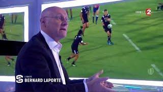 Formation, joueurs sous contrat, Top 14... Bernard Laporte veut réformer le rugby français