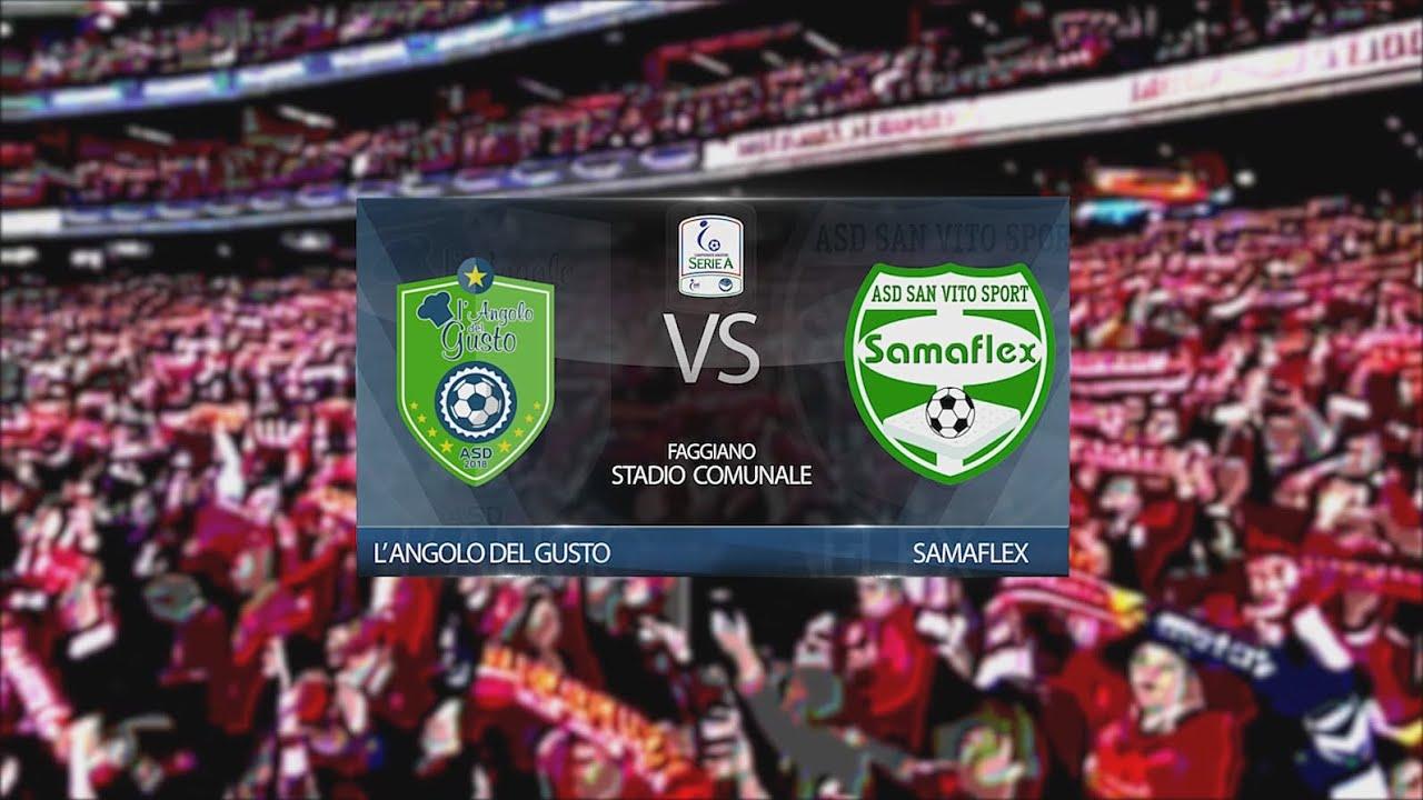 Serie A 2019/2020 - L'Angolo Del Gusto vs Samaflex