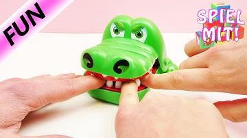 Spiel Krokodil Zähne