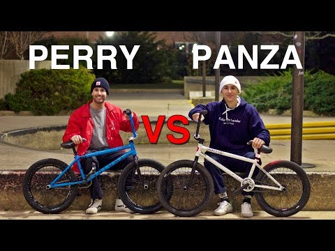 Street BMX Game of BIKE: Billy Perry VS Anthony Panza