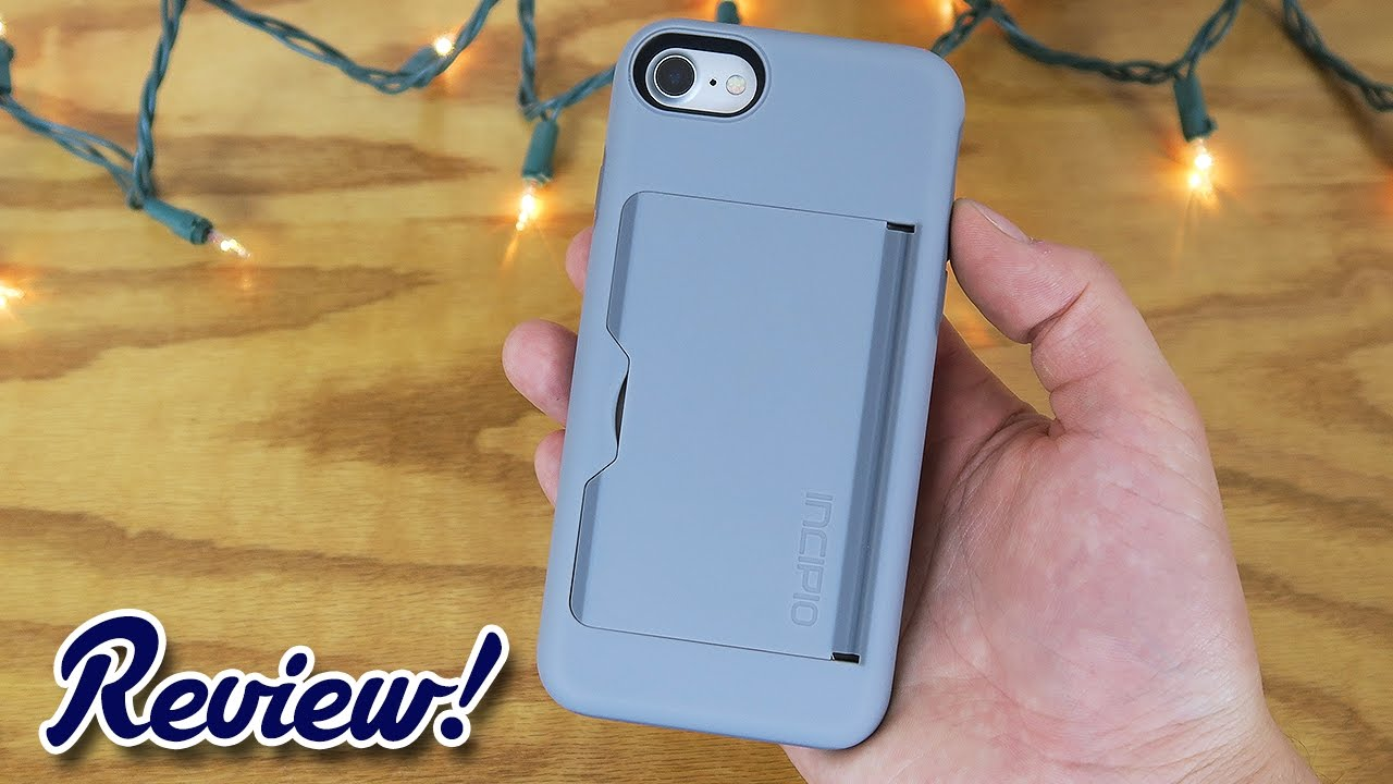 outlet store 3e9e5 26716 Incipio STOWAWAY for iPhone 7 - Complete Review!