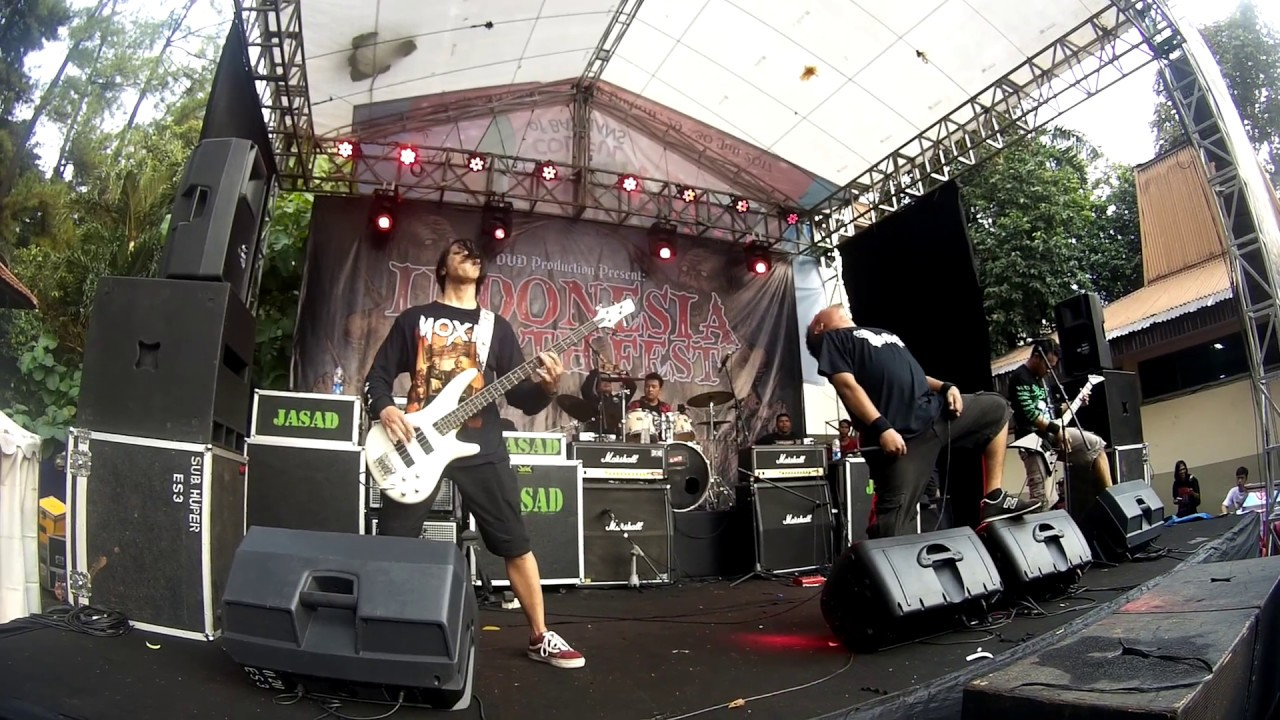 SINUSITIS - LIVE INDONESIA DEATH FEST @BULUNGAN OUTDOOR