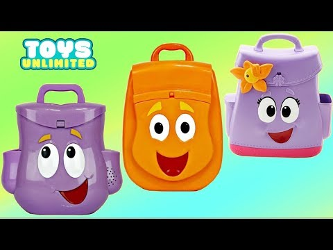 Dora the Explorer and Friends, Go Diego Go Rescue Backpack Bag
