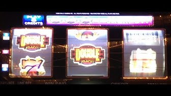 DOUBLE JACKPOT 777 ✦LIVE PLAY✦ Slot Machine Pokie at Caesars, Las Vegas