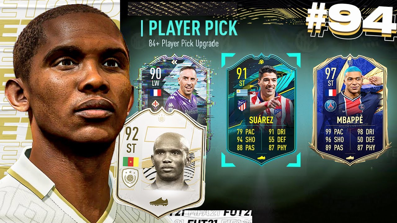 84+ TOTY PLAYER PICK & PACKS!! - ETO'O'S EXCELLENCE #94 (FIFA 21)