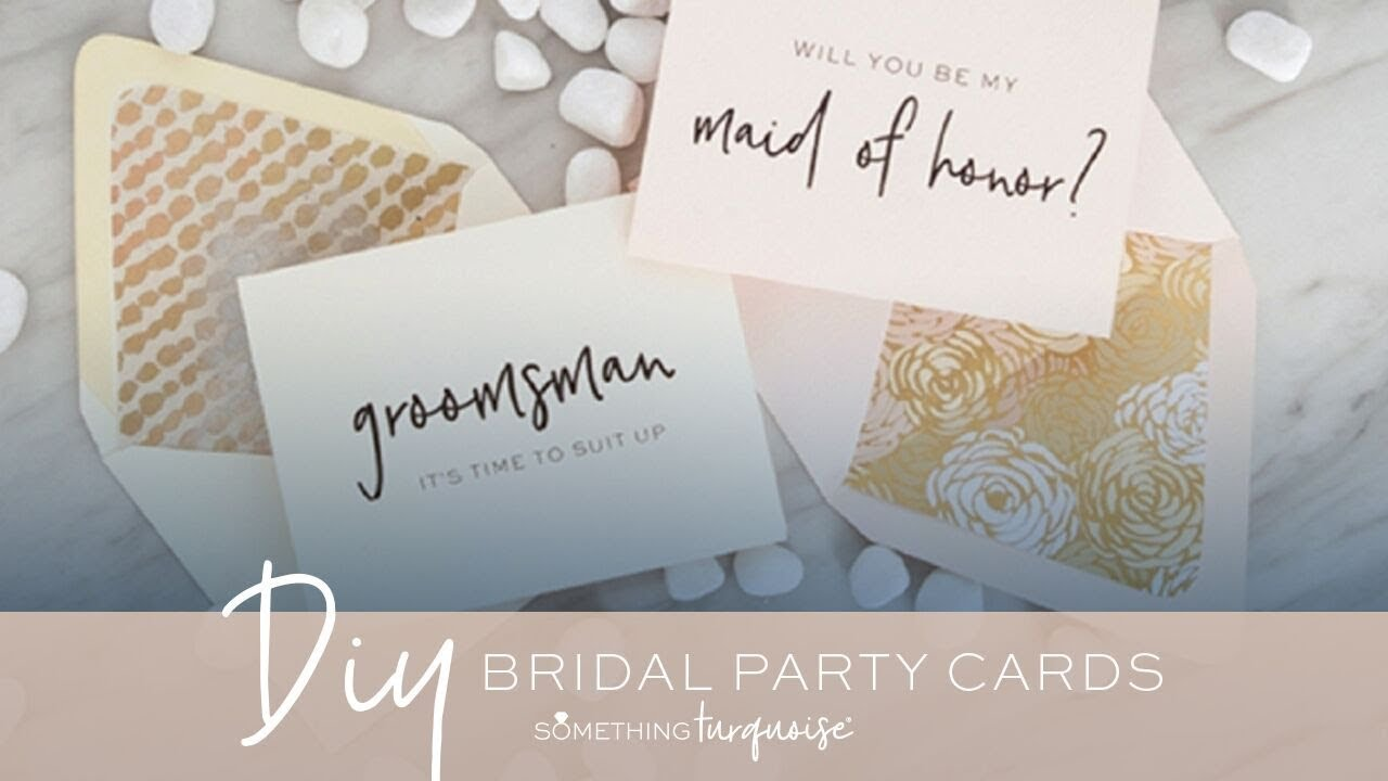 30 free printable will you be my bridesmaid cards youtube