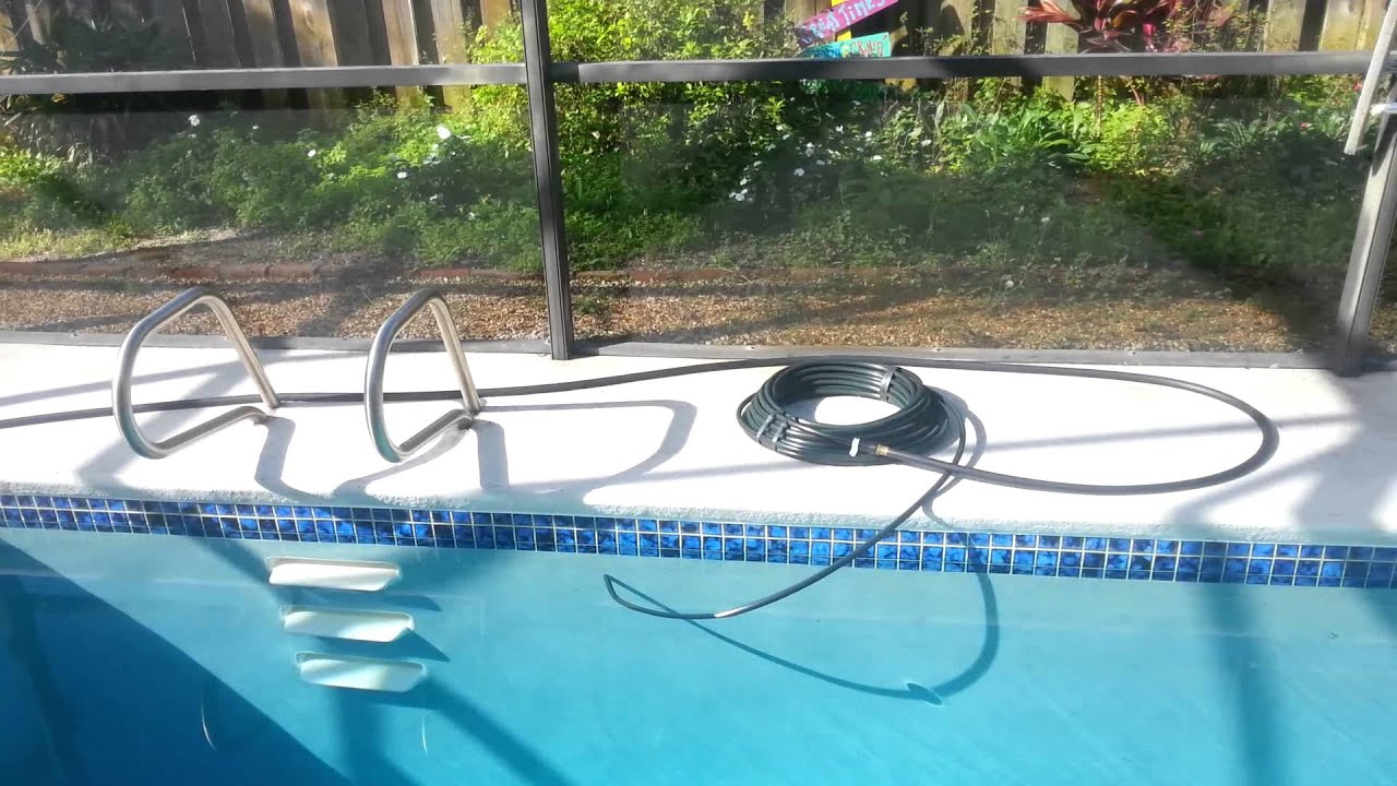 Cheapest simplest pool solar water heater ever youtube for Garden pool heater