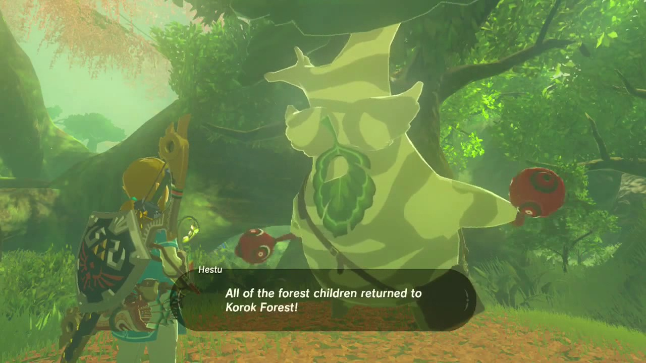 Zelda: Breath of the Wild - The reward for getting all 900 Korok ...