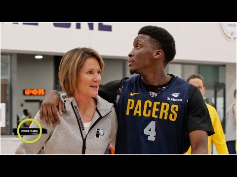 Kelly Krauskopf on her historic Pacers' job and NBA opportunities for women | Outside the Lines