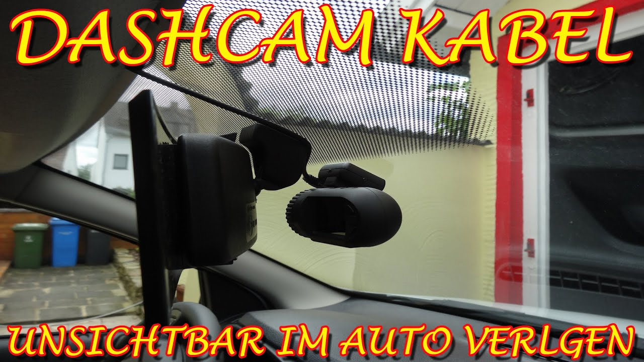 dashcam kabel unsichtbar im auto verlegen anleitung youtube. Black Bedroom Furniture Sets. Home Design Ideas