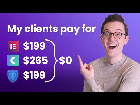 How to Let Your Clients Pay for Elementor Pro, Crocoblock and Security - Maintenance Packages