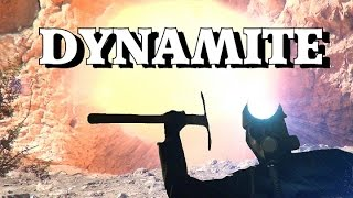 BLOWING UP DYNAMITE !!! Inside Old Gold mine..  ask Jeff Williams