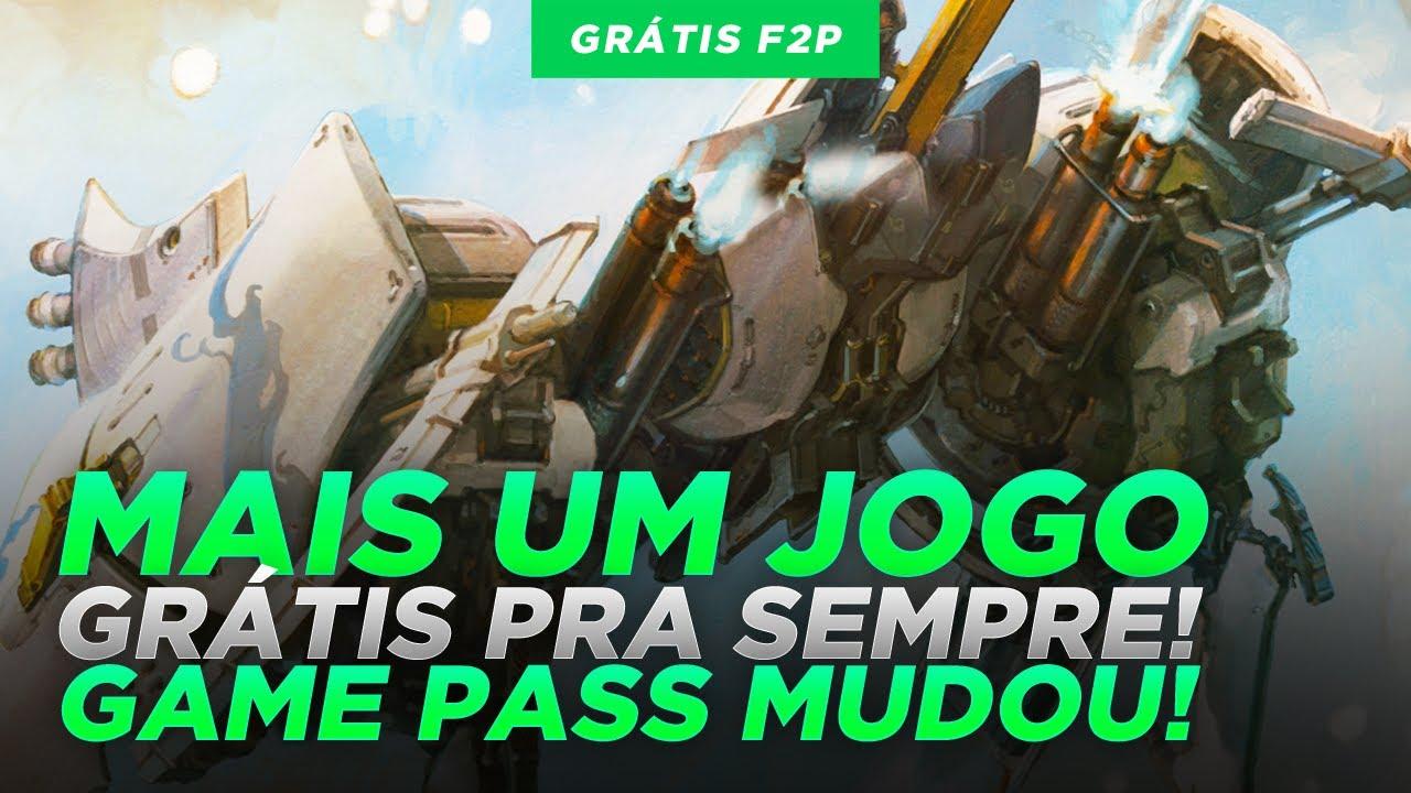 VISH! MAIS UM JOGO GRÁTIS PRA SEMPRE LIBERADO e MUDANÇAS no GAME PASS!