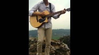 Thất tình cover Guitar-  [ Trịnh Đình Quang]- Hát trên đỉnh núi - Michael Hau