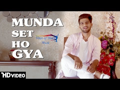 Munda Set Ho Gya | New Punjabi Song 2017 | Vicky Natwariya | Ft.RV | Majotra Musics | VOHM