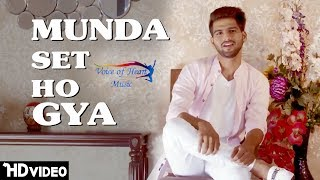 Munda Set Ho Gya | New Punjabi Song 2017 | Vicky Natwariya | Ft.RV | Majotra Musics | VOHM
