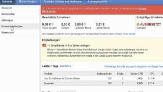 Youtube / AdSense Wo gebe ich meine Bankverbindung an für Zahlungen Tutorial