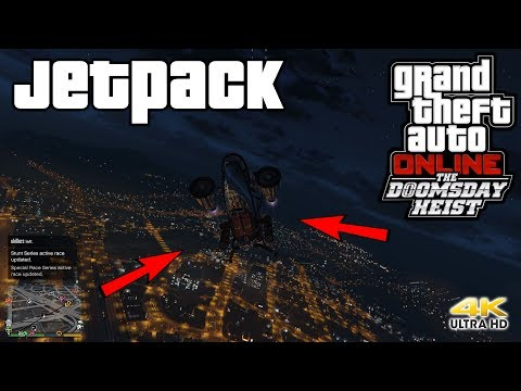 Grand Theft Auto Onlne The Doomsday Heist Update Buying a Jetpack
