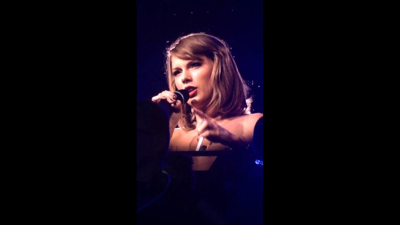 Taylor Swift Clean Speech Part 1 1989 Tour Lexington Ky 10 20 15 Youtube