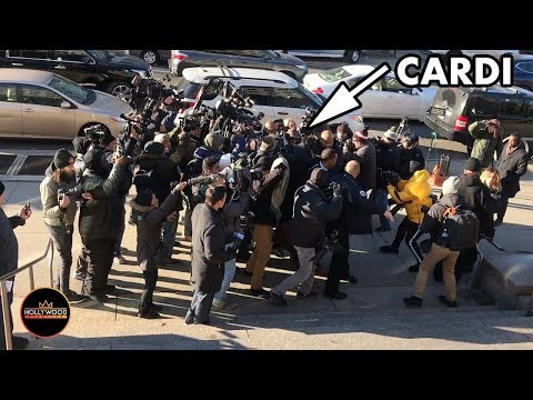WILD! Cardi B Gets Mobbed Arriving to Queens Criminal Court in New York Mp3